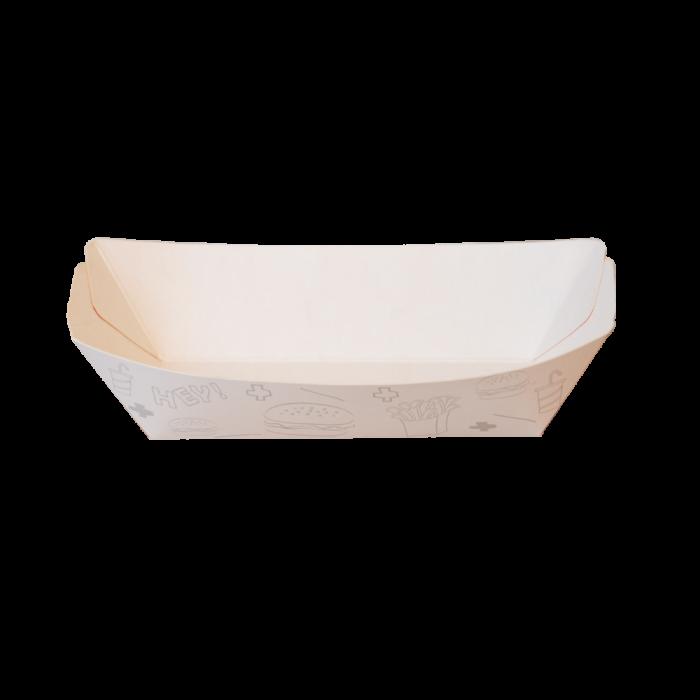 پلیت قایقی دورنگ سفید قرمز 600 عددی طولی