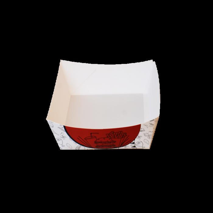 پلیت داخل سالن دورنگ سفید قرمز بزرگ 438 عددی عرضی