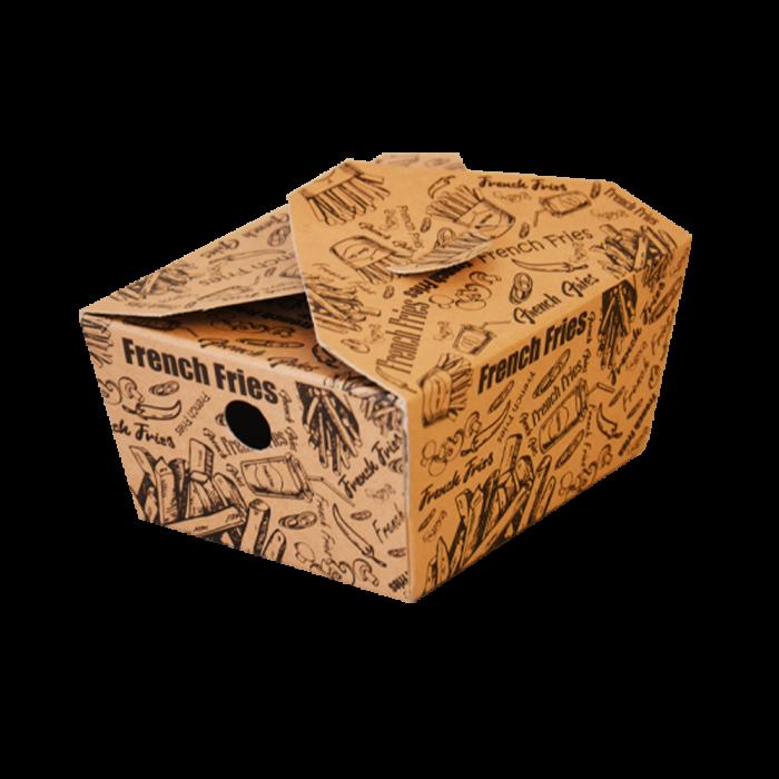 جعبه سیب زمینی تک رنگ دوپلکس 100 عددی سه رخ