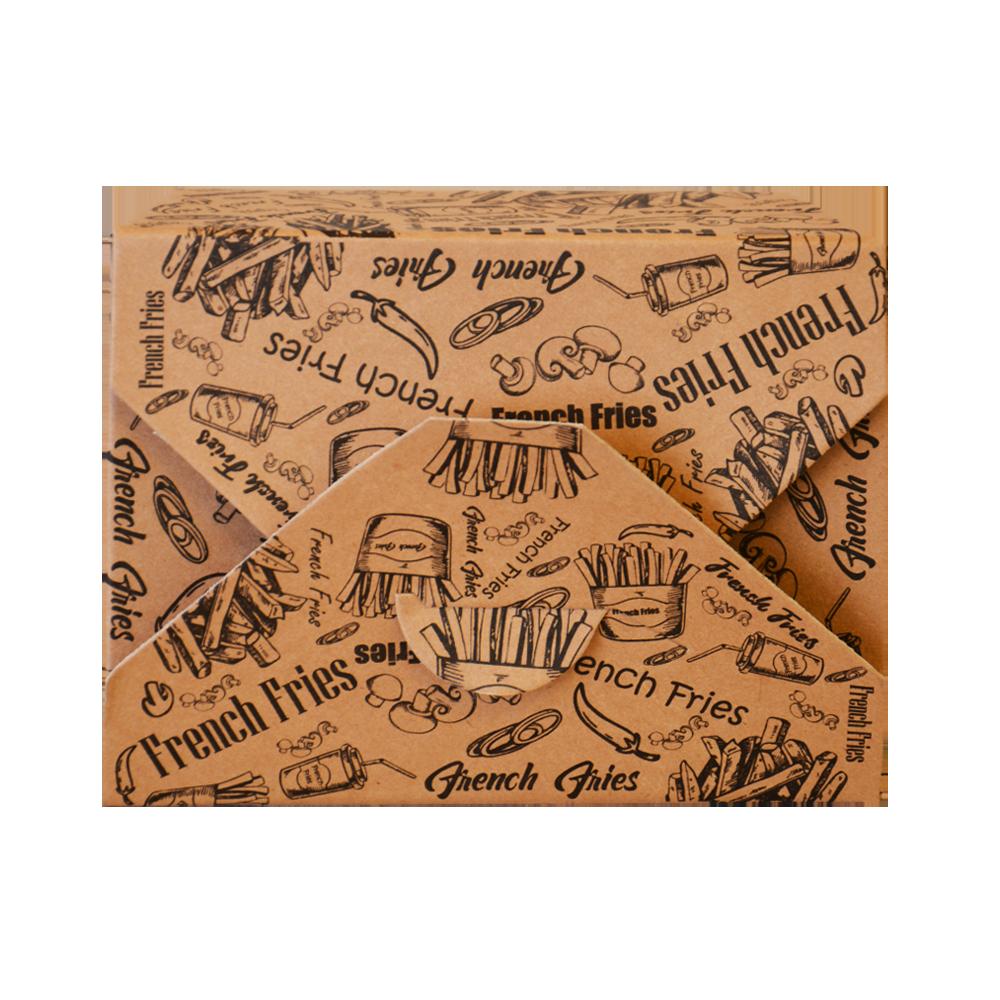جعبه سیب زمینی تک رنگ دوپلکس 100 عددی بالا