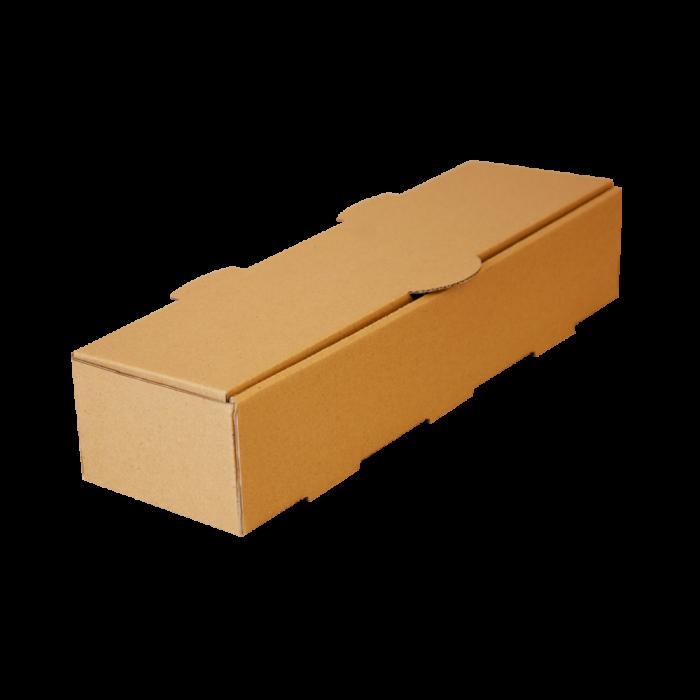 جعبه هات داگ بدون چاپ کرافت 100 عددی سه رخ در بسته