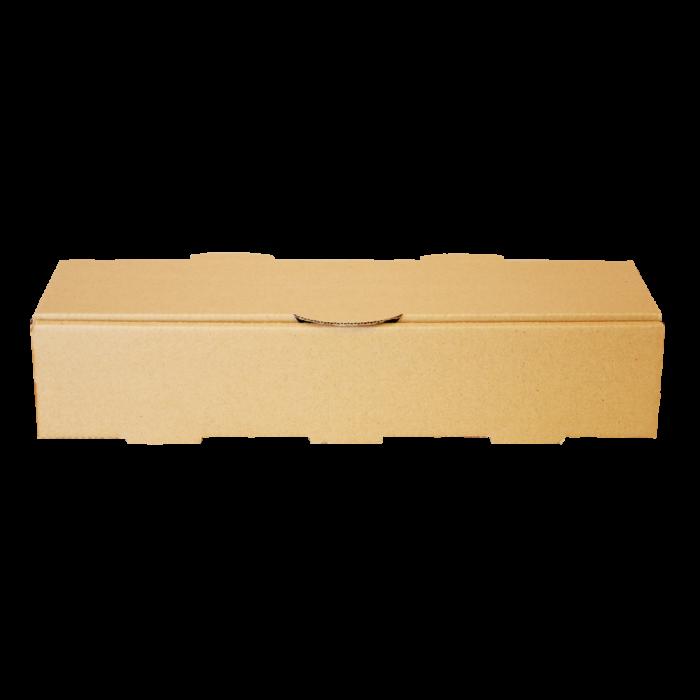 جعبه هات داگ بدون چاپ کرافت 100 عددی طولی