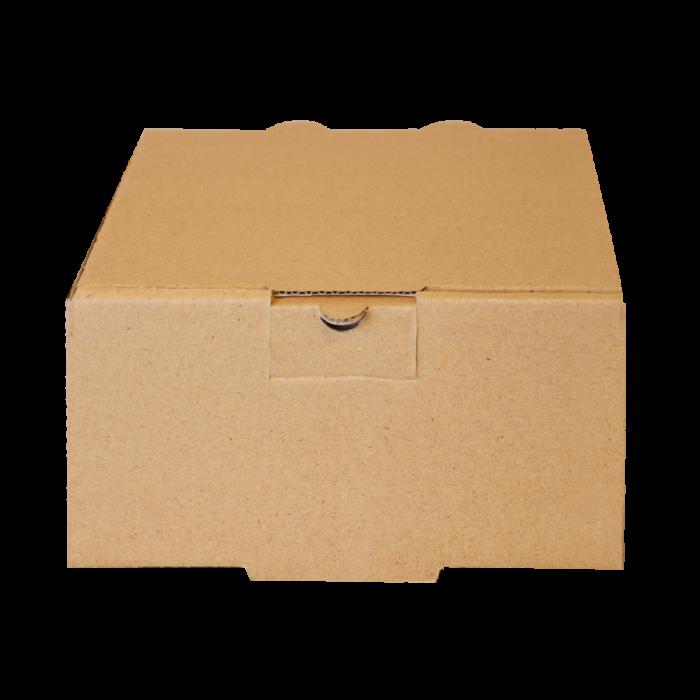 جعبه برگر بدون چاپ کرافت 100 عددی طولی