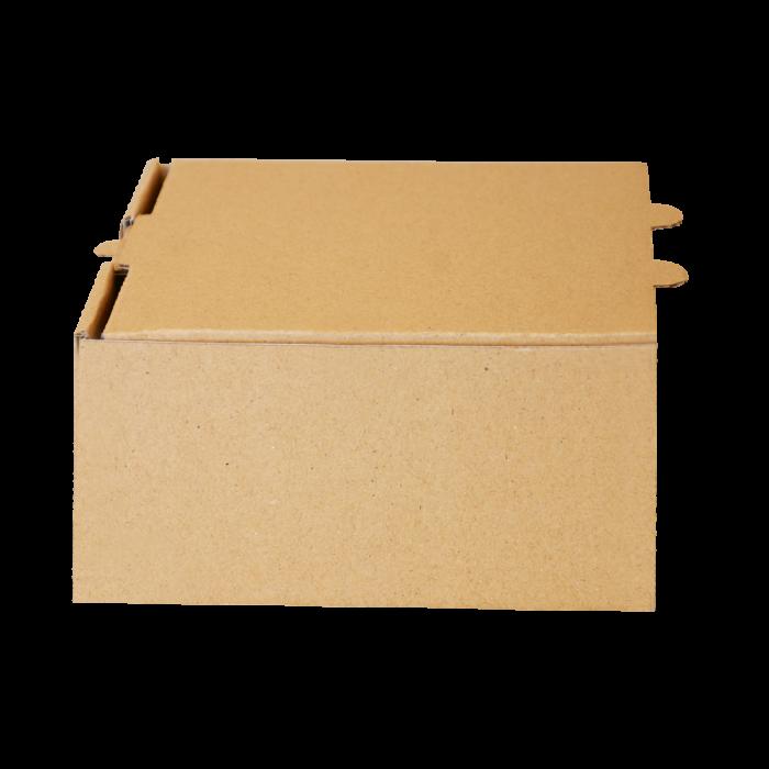 جعبه برگر بدون چاپ کرافت 100 عددی عرضی