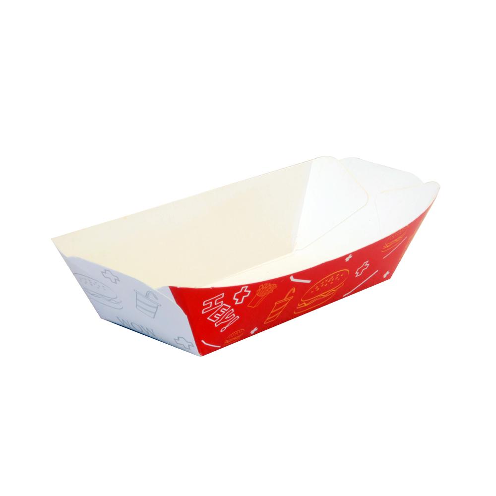پلیت قایقی دورنگ قرمز سفید در بسته بندی 600 عددی سه رخ